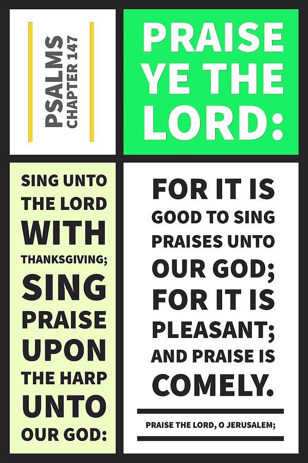 Psalms chapter 147 by Payet Emmanuel