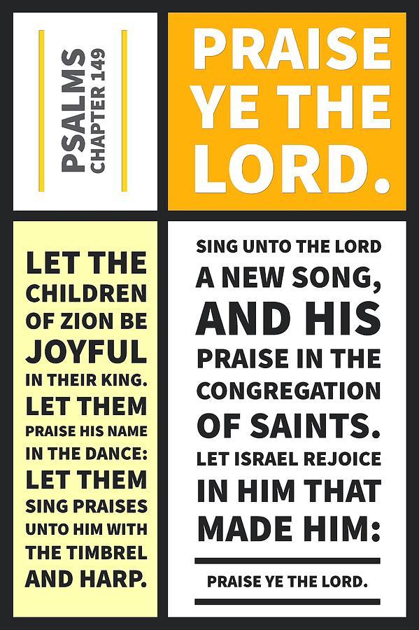 Psalms chapter 149 by Payet Emmanuel