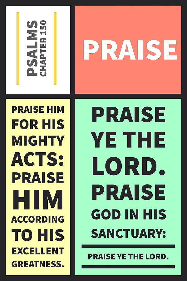 Psalms chapter 150 by Payet Emmanuel