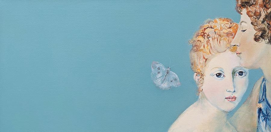 Psyche and Cupid by Jodie Marie Anne Richardson Traugott          aka jm-ART