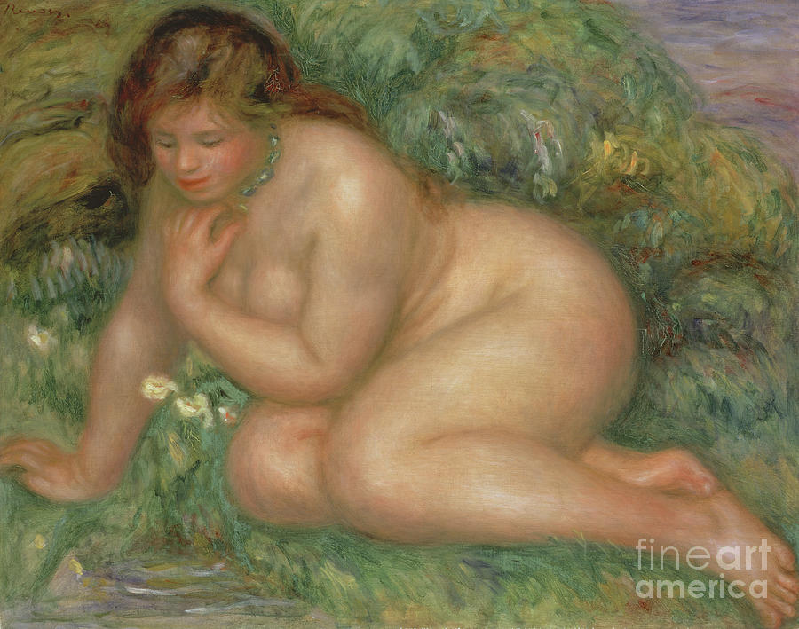 Psyche, circa 1910  by Pierre Auguste Renoir