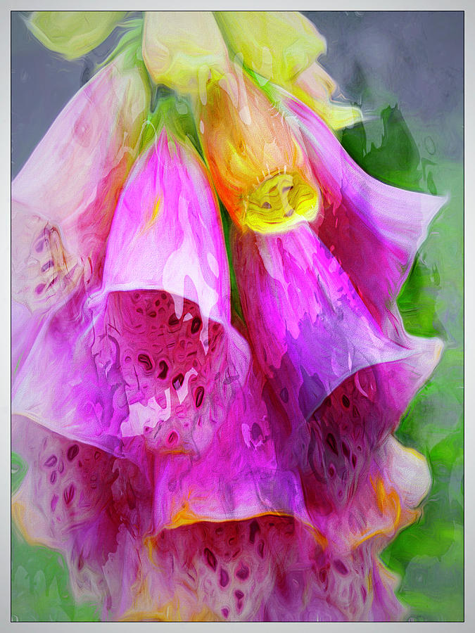 Psychedellic Pinkbells by Cindy Greenstein