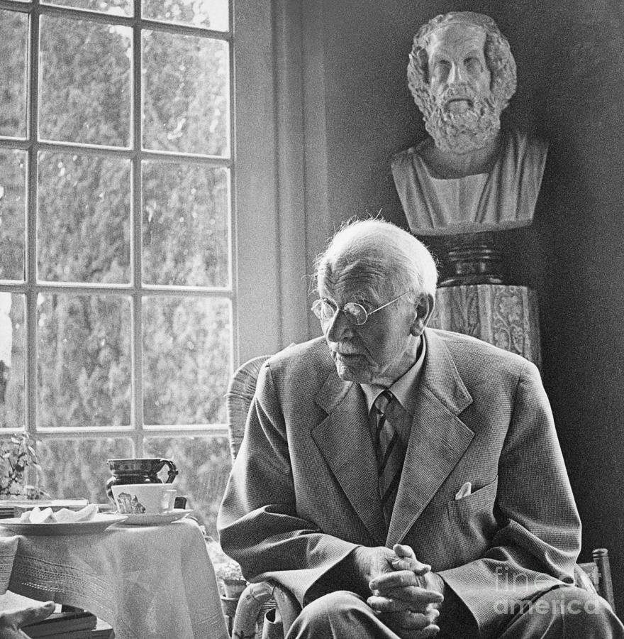 Psychiatrist Carl Gustav Jung Photograph by Bettmann