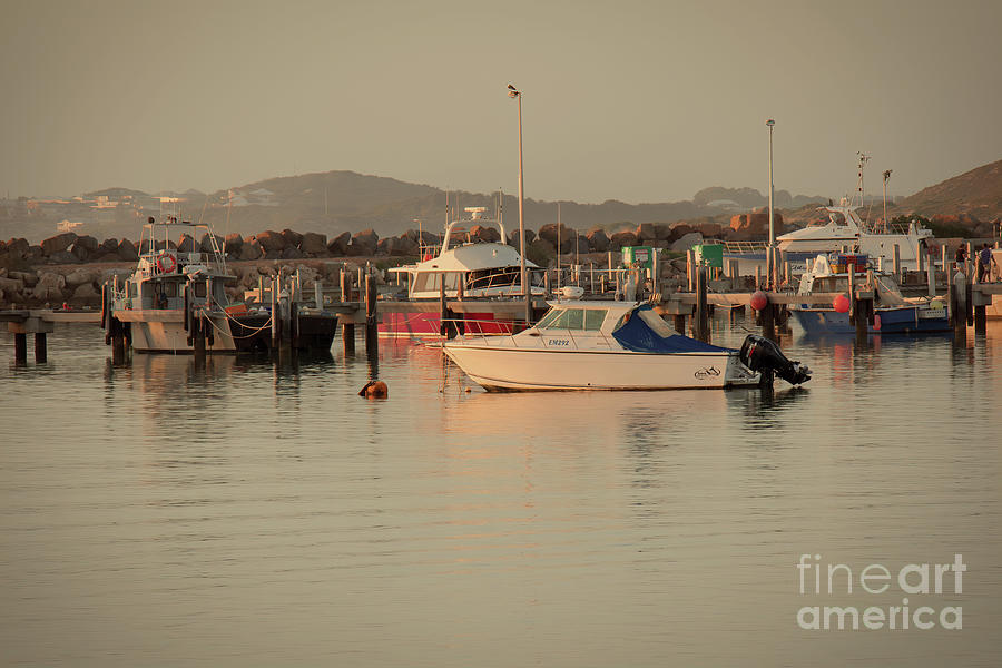Pt. Denison Boat Harbour, Western Australia by Elaine Teague
