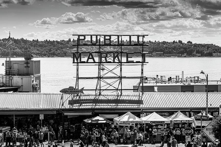 Matthew Blum Photograph - Public Market by Matthew Blum