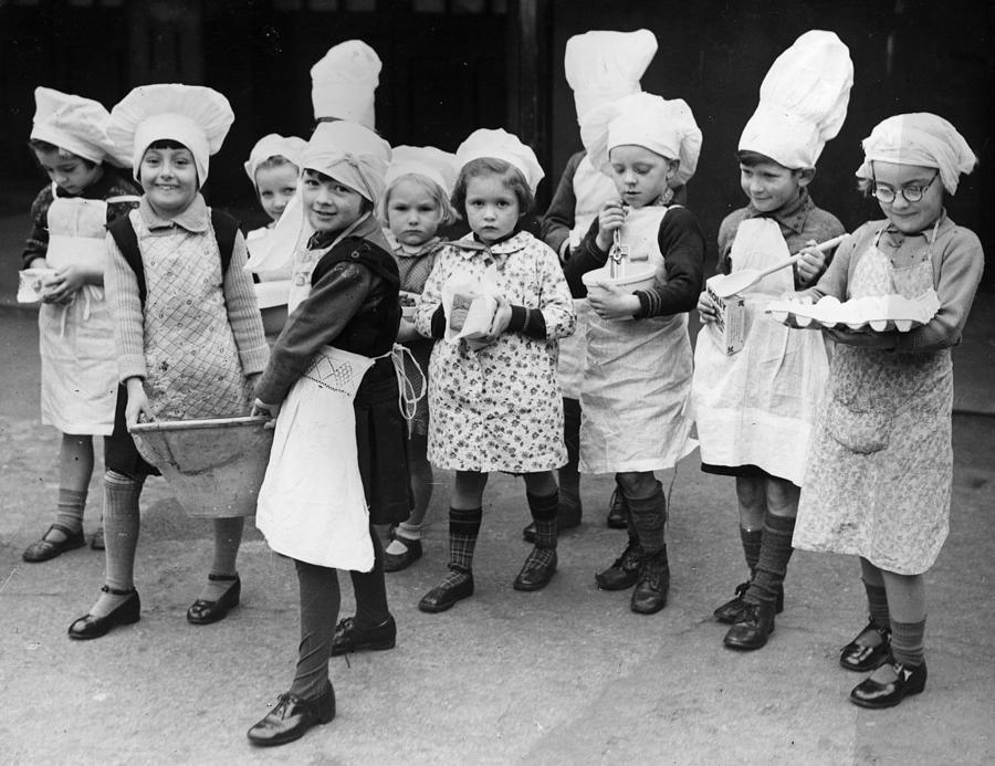 Pudding Supplies Photograph by Fox Photos