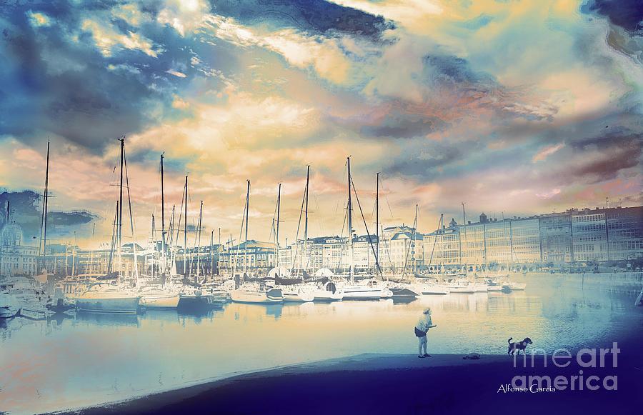 Puerto by Alfonso Garcia