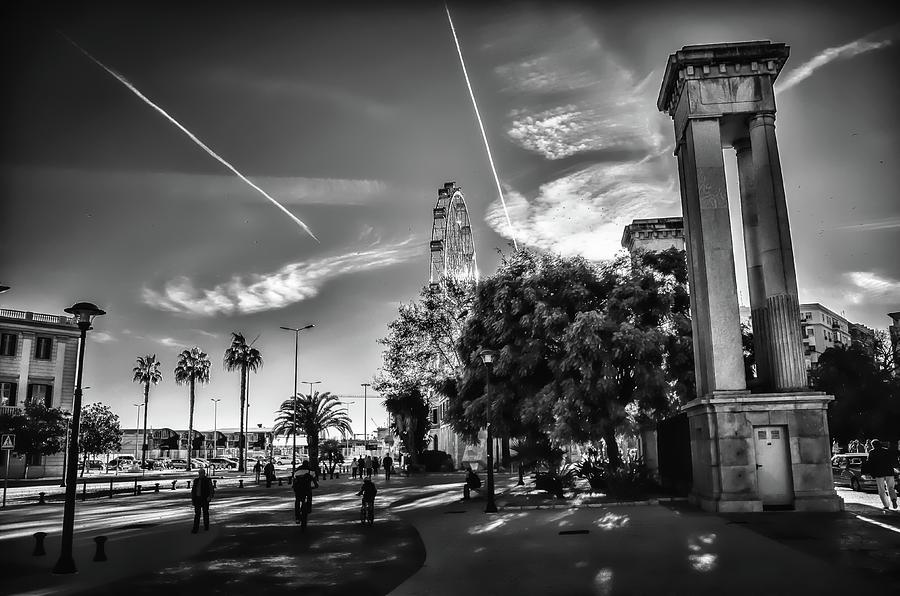 Dock Photograph - Puerto De Malaga by Borja Robles