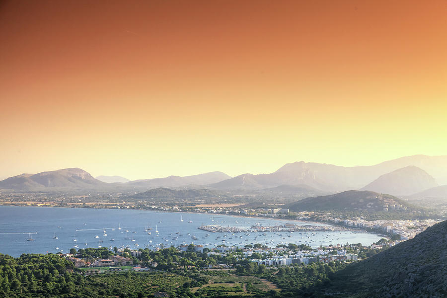 Puerto Pollenca Bay, Mallorca Photograph by Michele Falzone