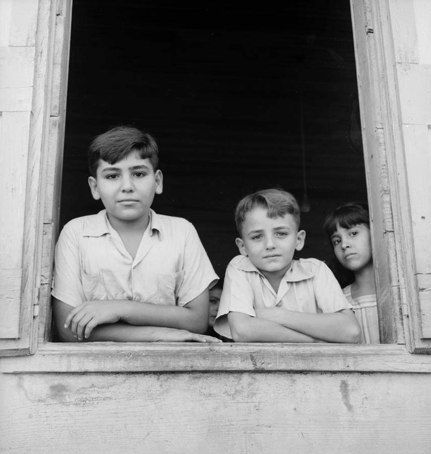Puerto Rican Children Photograph by Three Lions