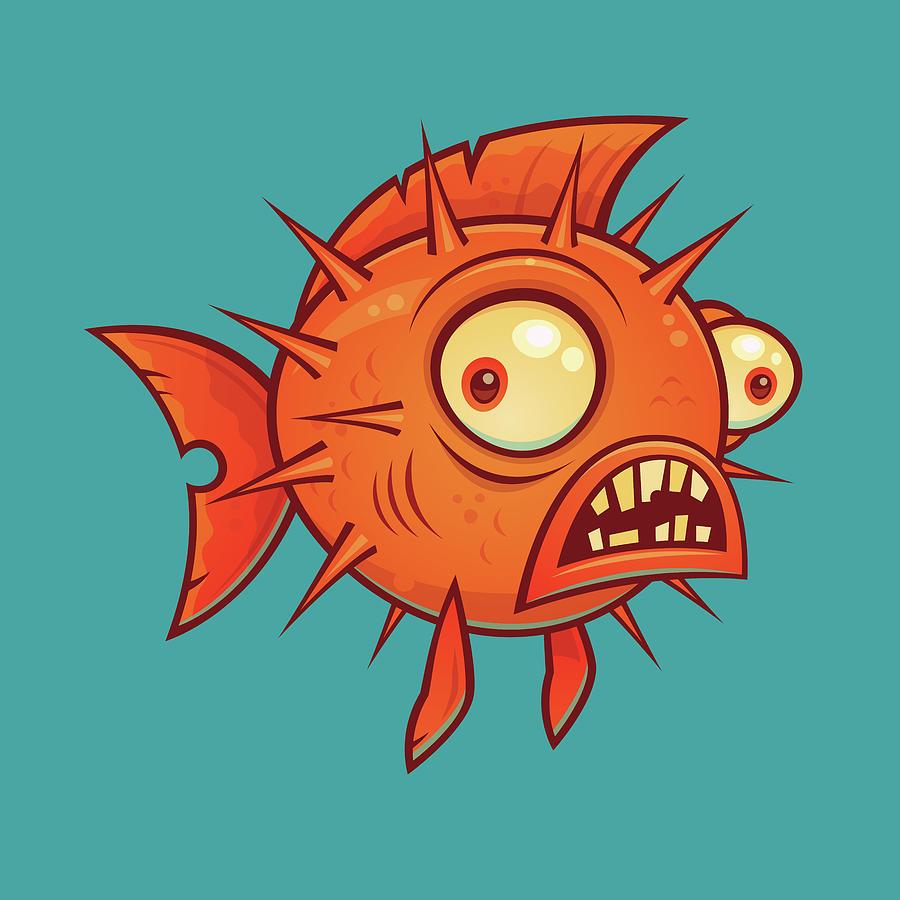 Pufferfish Digital Art