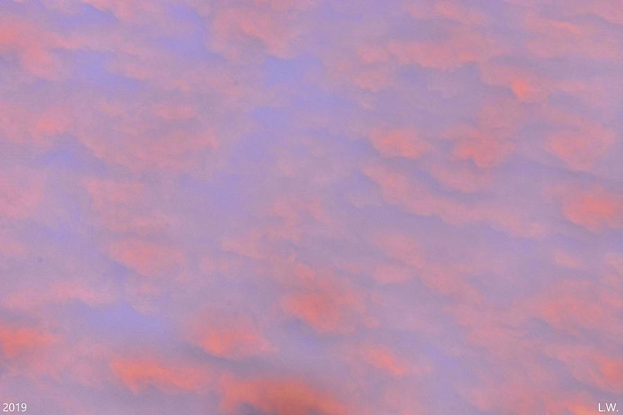 Puffy Pink Sky by Lisa Wooten