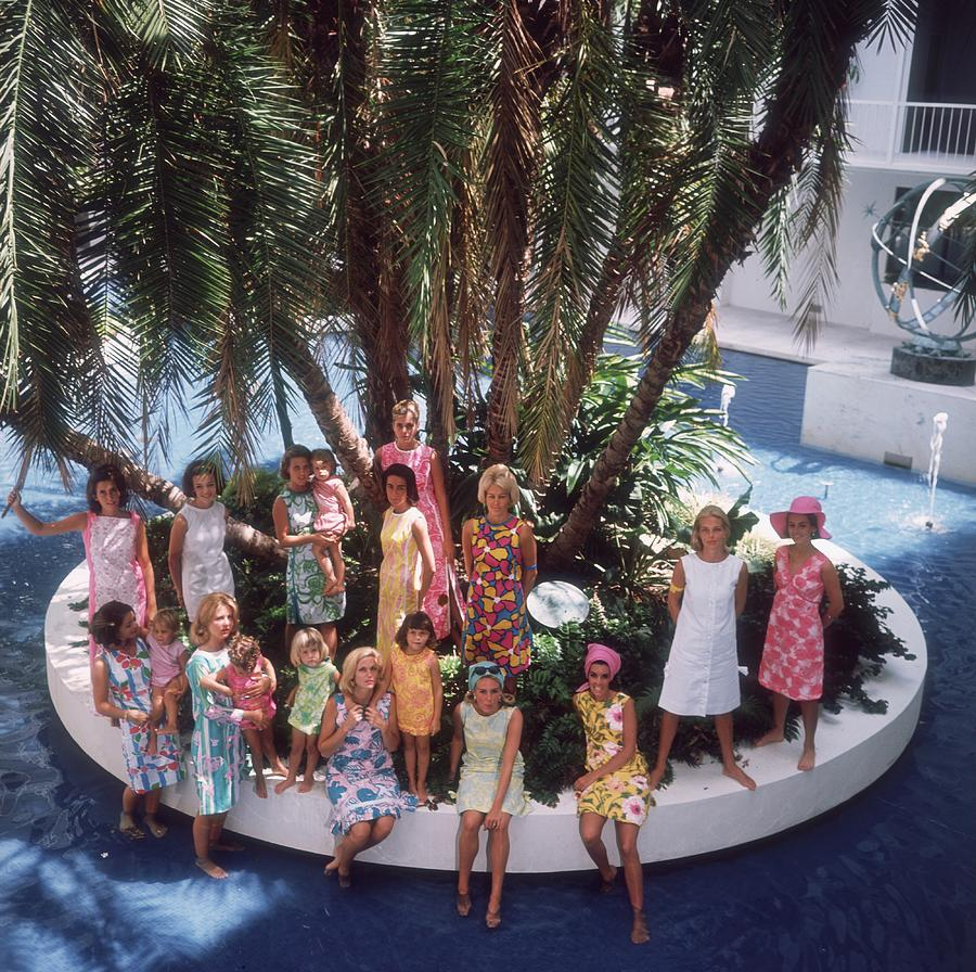 Child Photograph - Pulitzer Fashions by Slim Aarons