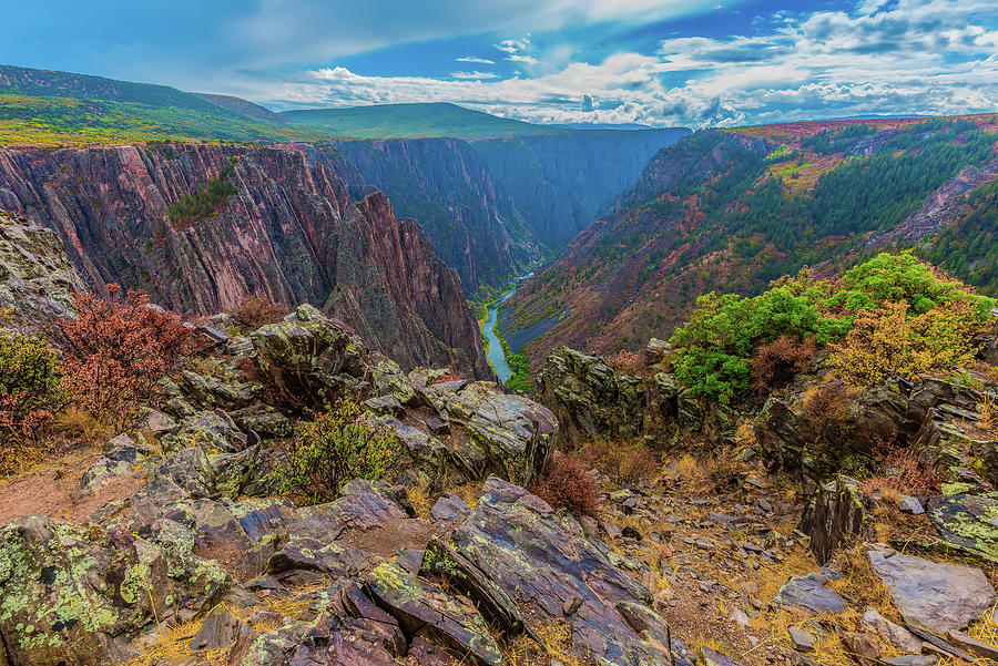 Pulpit Rock Overlook by Tom Potter