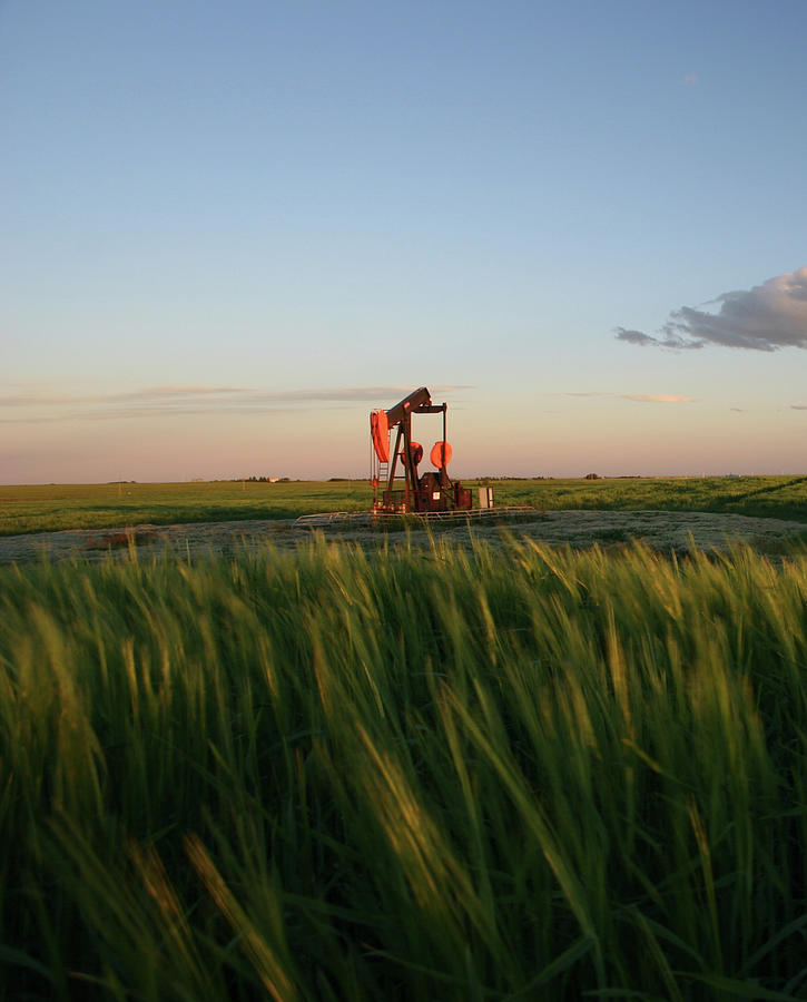 Pumpjack Photograph by Imaginegolf