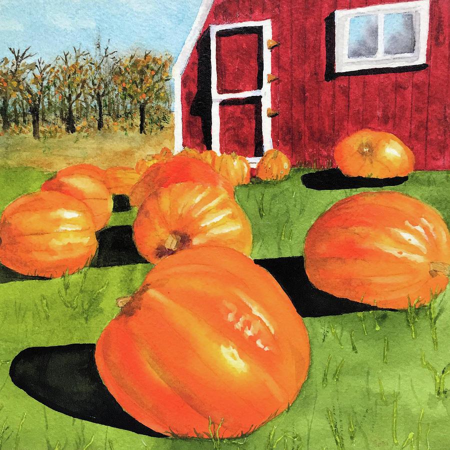 Pumpkin Harvest by Susan Bauer