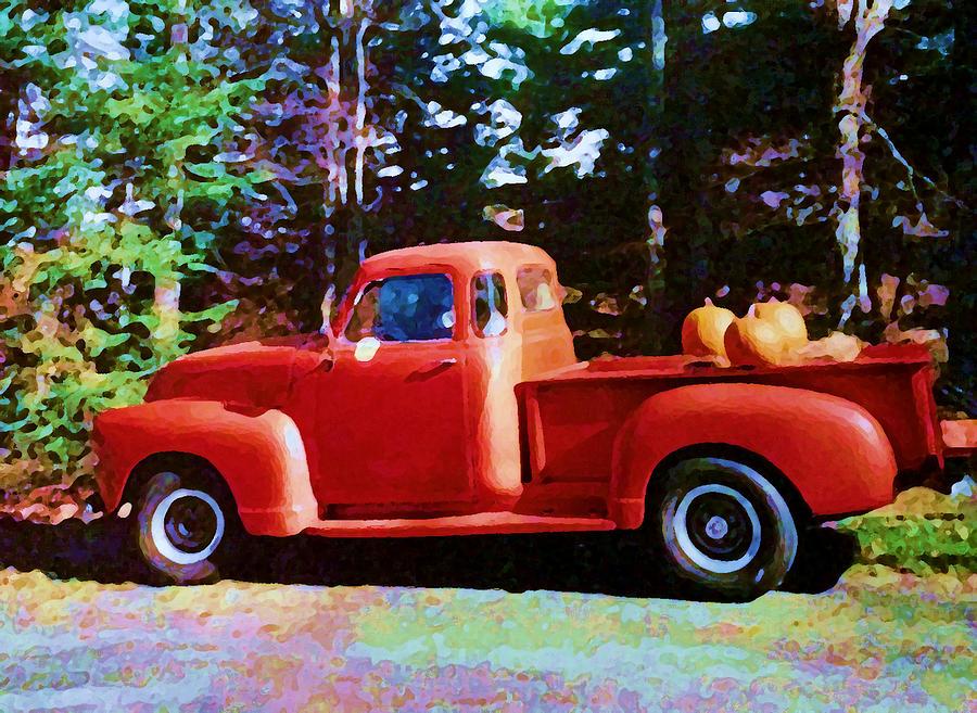 Pumpkin Pickup by Tom Johnson