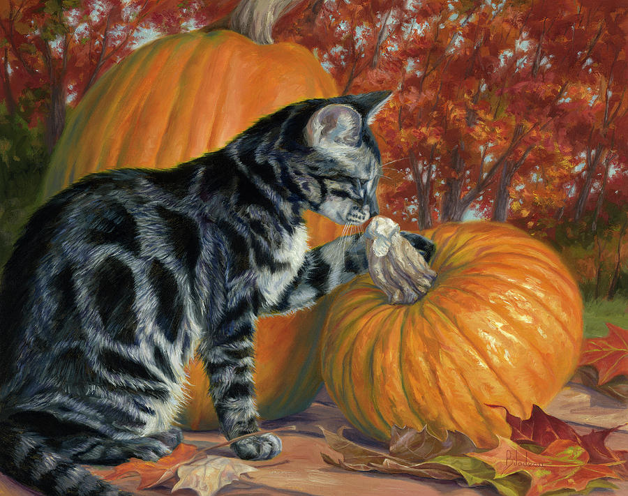 Pumpkin Season by Lucie Bilodeau