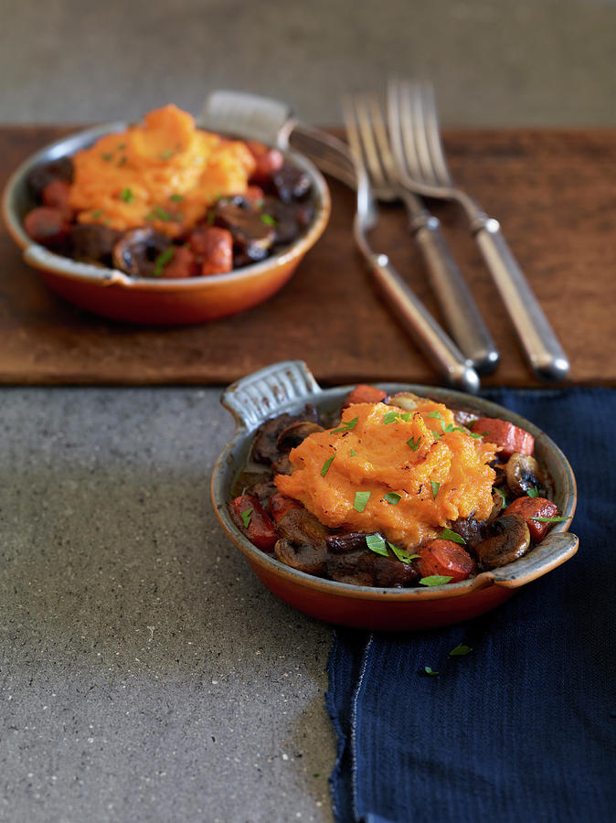 Pumpkin Shepherds Pie Photograph by Annabelle Breakey