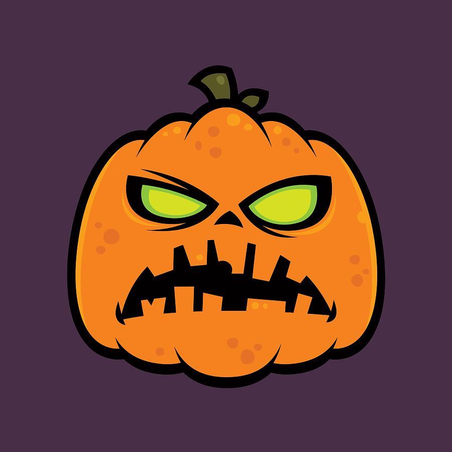 Pumpkin Zombie Digital Art