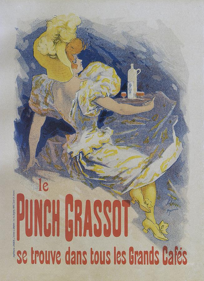 Jules Cheret Painting - Punch Grassot, 1895 Vintage French Poster by Jules Cheret