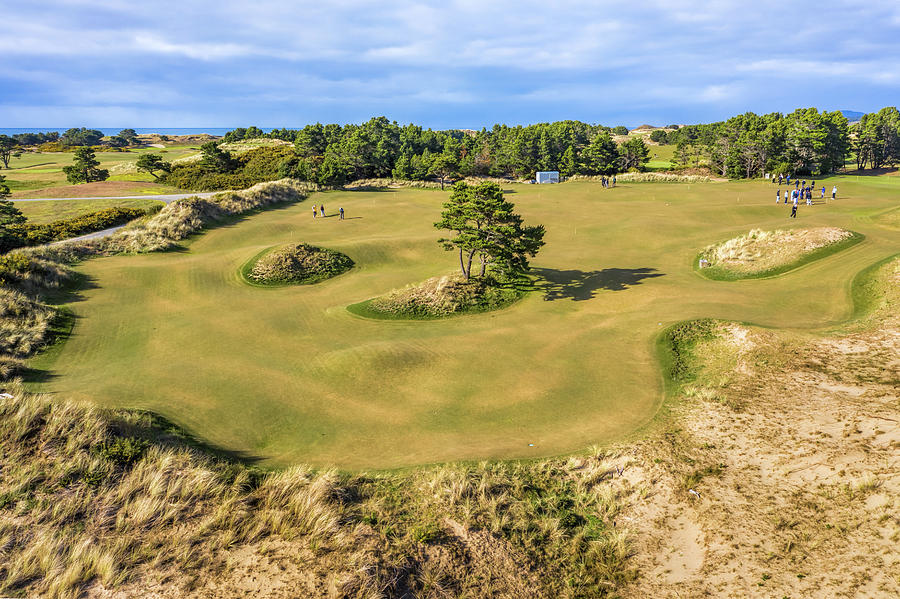 Punchbowl at Pacific Dunes by Mike Centioli
