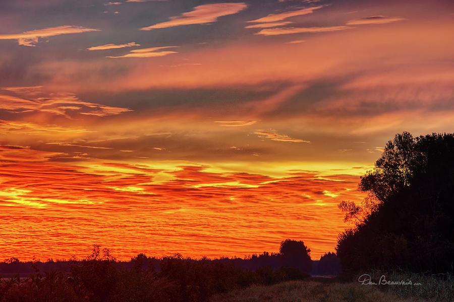 Pungo Sunrise 3349 by Dan Beauvais