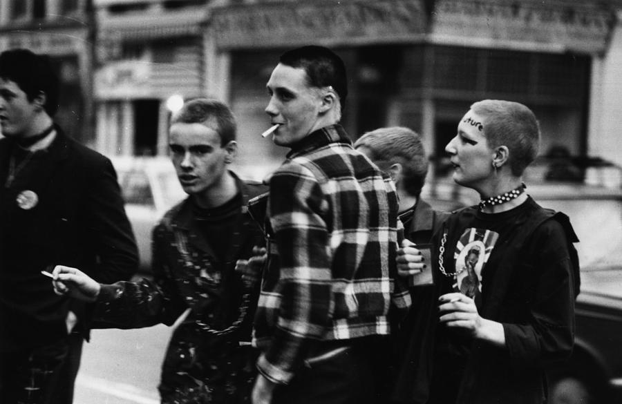 Punk Clubbers Photograph by Chris Moorhouse
