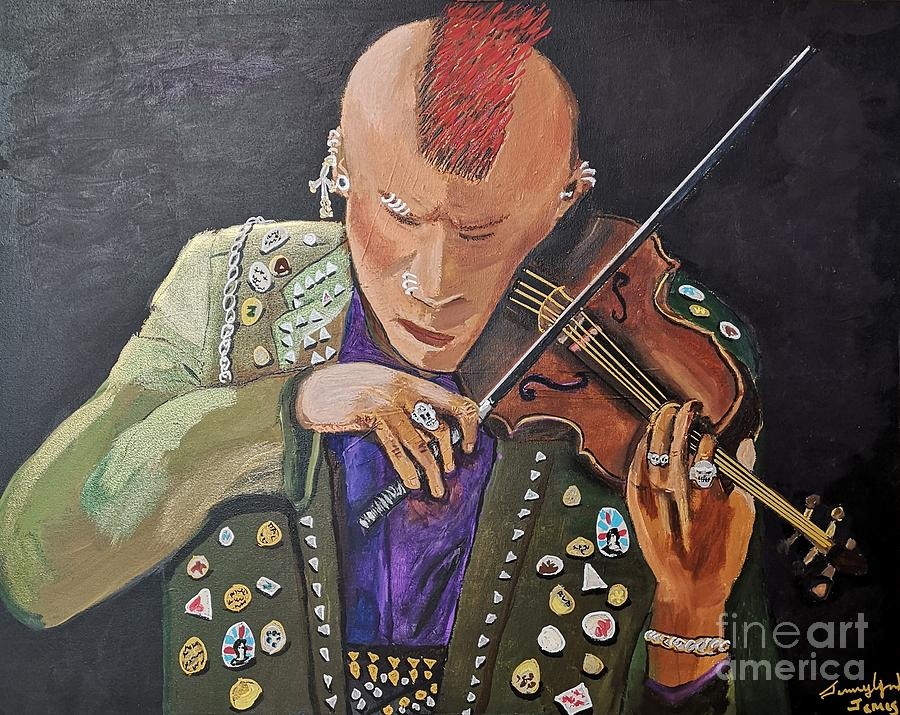 Punk Fiddle by Jennylynd James