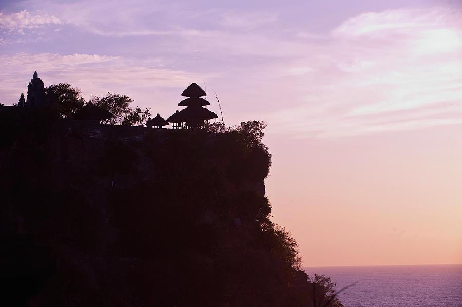 Pura Lunhur Ulu Watu Temple On Cliffs Photograph by Gallo Images