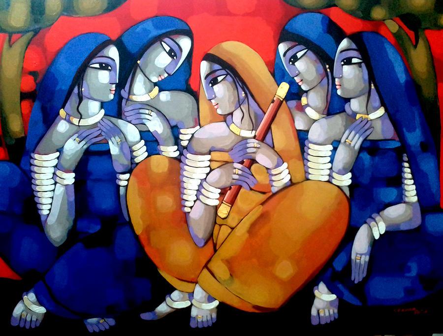 Purba Raag Painting