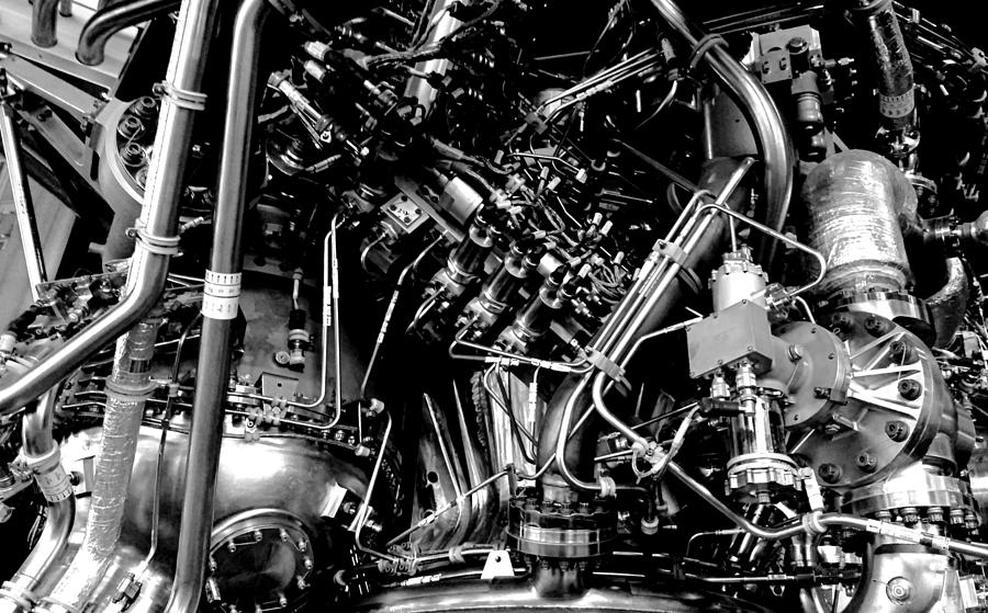 Pure Power, Upper Stage Engine Photograph