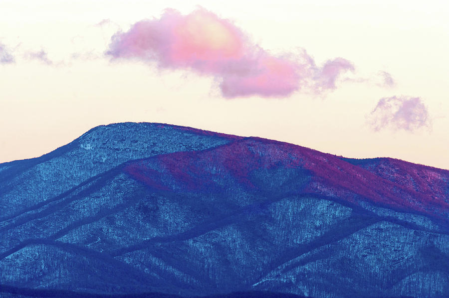 Purple And Blue Ridge by Lara Ellis