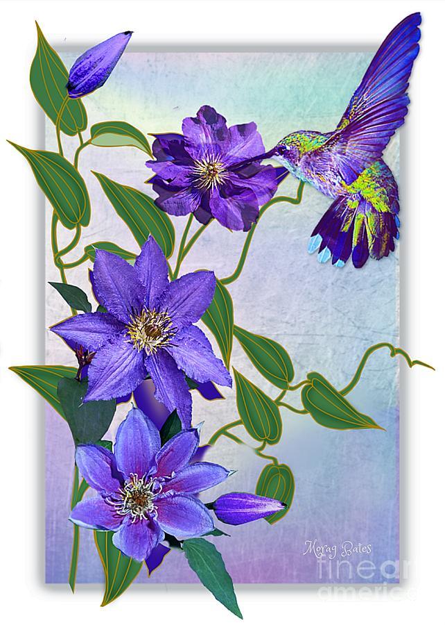 Purple Attraction by Morag Bates