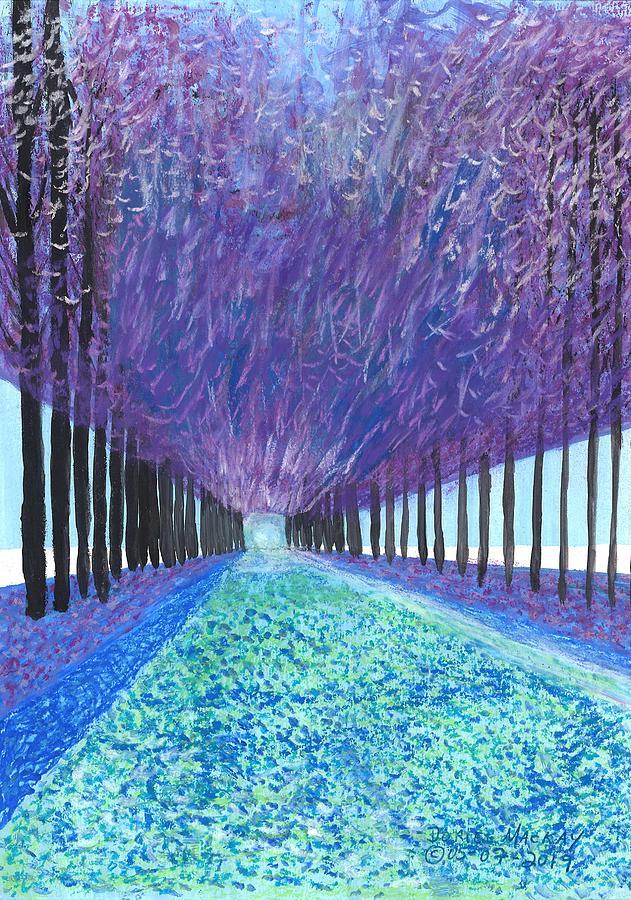 Purple Forest by Doriel Mackay