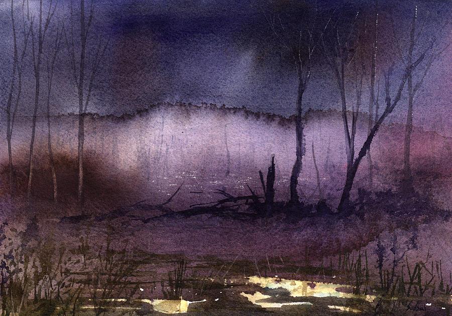 Purple Mist Marsh by Sean Seal