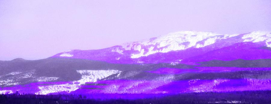 Purple Mountain Majesty Photograph