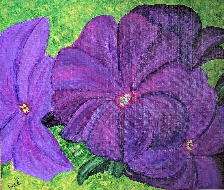 Purple Passioon by Gail Friedman