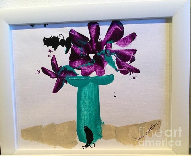 Purple Petals by Joan McArthur