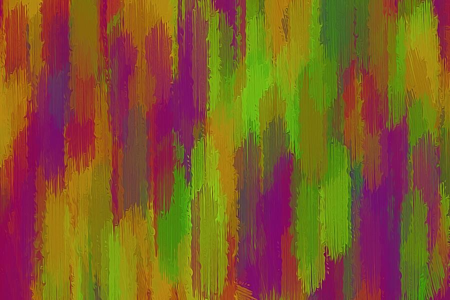 Purple Pink Green And Orange Painting Texture Abstract Background
