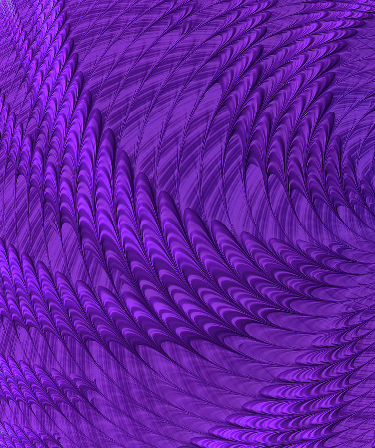 Purple Spikes by Constance Sanders