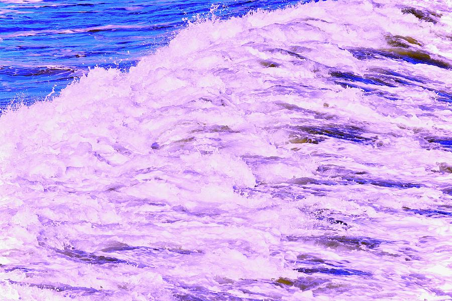 Purple Splash by Debra Grace Addison
