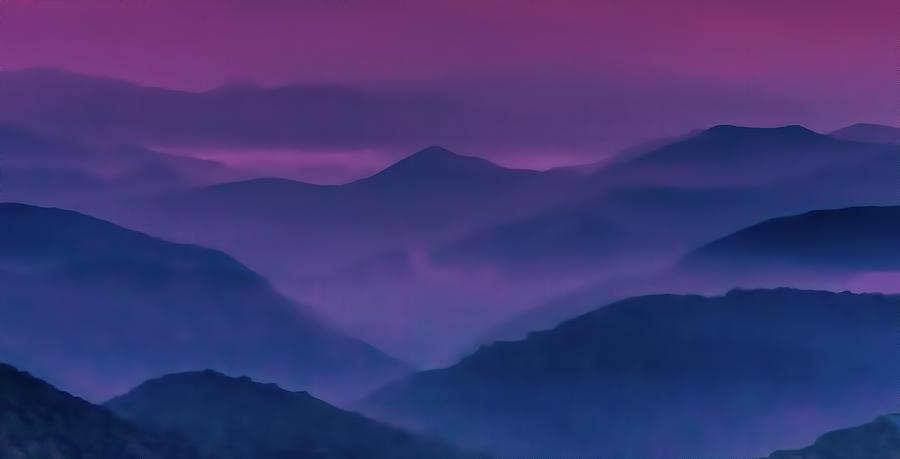 Purple Twilight by Dan Carmichael