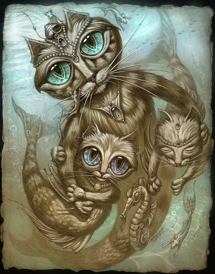Purrmaid by Jeff Haynie