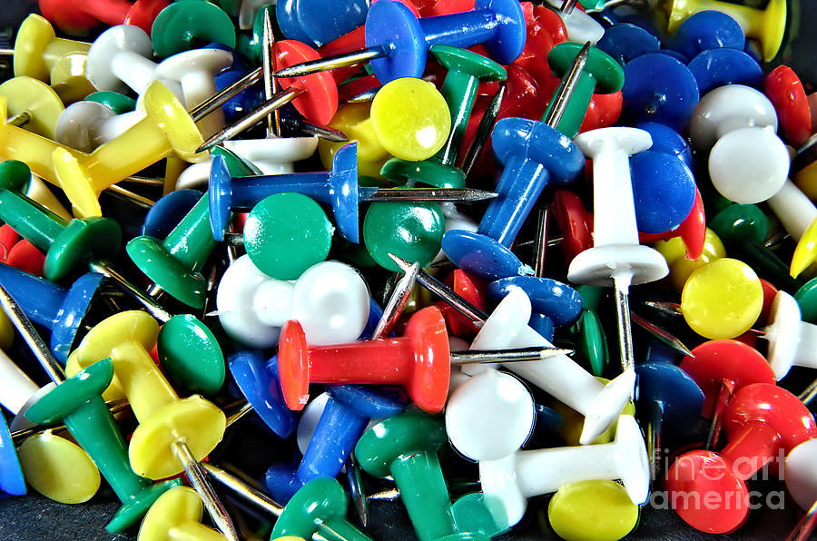 Push Pins by Steve Edwards