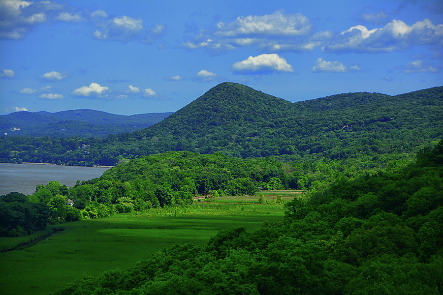 Putnam County's Hudson Highlands From Bear Mountain's Purple Heart Memorial Bridge by Raymond Salani III