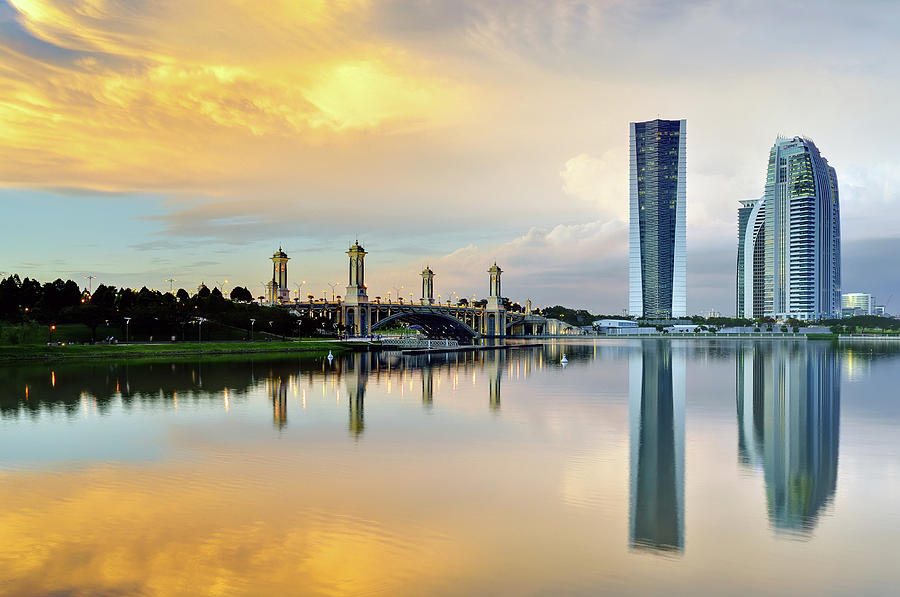 Putrajaya Government Building Photograph by Photo By Mozakim