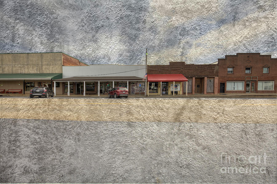 Hdr Digital Art - Puxico Missouri  by Larry Braun