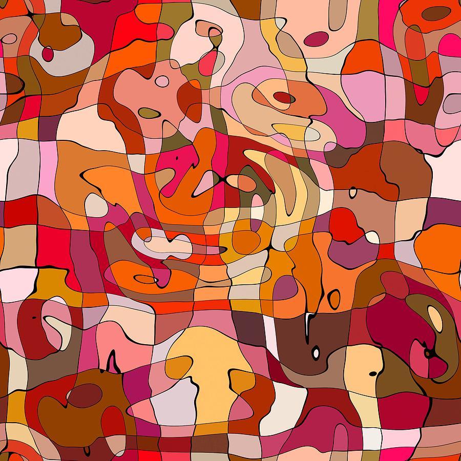 Abstract Digital Art - Puzzle by ArtMarketJapan