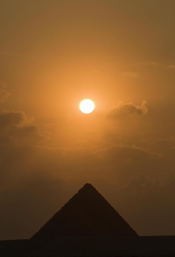 Pyramid At Sunset Photograph by Shanna Baker